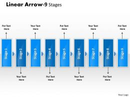 Linear Arrow 9 Stages 14