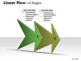 linear arrow process 2 stages 25