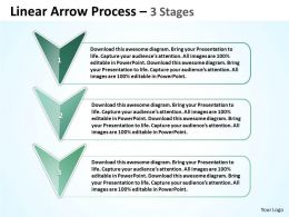 Linear Arrow Process 3 Stages 28