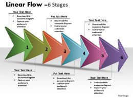 Linear Arrow Process 6 Stages 40