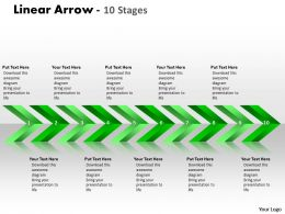 Linear Arrows 10 Stages 12