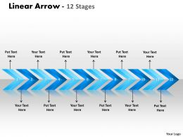 Linear Arrows 12 Stages 8