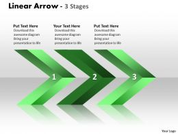 Linear Arrows 3 Stages 32
