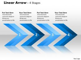 Linear Arrows 4 Stages 10