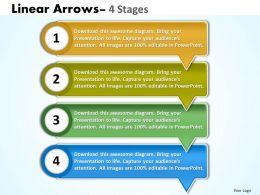 Linear Arrows 4 Stages 43