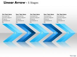 Linear Arrows 5 Stages 54