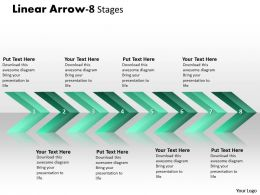 Linear Arrows 8 Stages 18