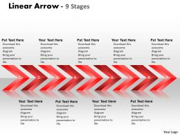 Linear Arrows 9 Stages 15