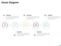 Linear Diagram C1477 Ppt Powerpoint Presentation Gallery Tips