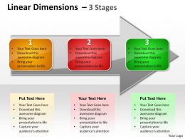 Linear Dimensions 3 Stages 5