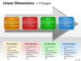 Linear Dimensions 4 Stages 11