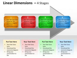 Linear Dimensions 4 Stages 45