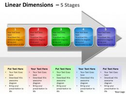 Linear Dimensions 5 Stages 8