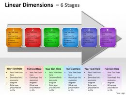 Linear Dimensions 6 Stages 9