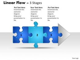 Linear Flow 3 Stages Style1
