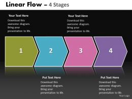 Linear Flow 4 Stages 12