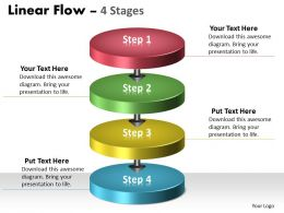 Linear Flow 4 Steps diagram 19