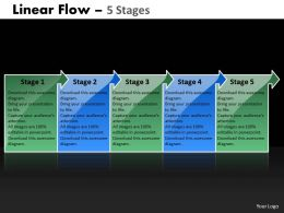 Linear Flow 5 Stages 63