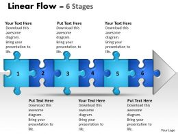 linear_flow_6_stages_style1_Slide01