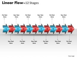 linear_flow_arrow_12_stages_1_Slide01