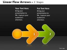 Linear Flow Arrow 2 Stages 39