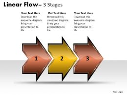 Linear Flow Arrow 3 Stages 20