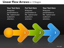 Linear Flow Arrow 3 Stages 47