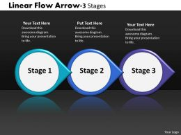 Linear Flow Arrow 3 Stages 50
