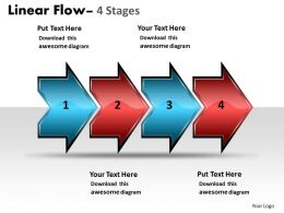 Linear Flow Arrow 4 Stages 54