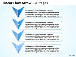 Linear Flow Arrow 4 Stages 80