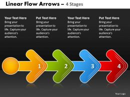 Linear Flow Arrow 4 Stages 81