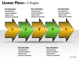 Linear Flow Arrow 5 Stages 74