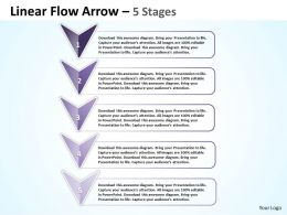 Linear Flow Arrow 5 Stages 75