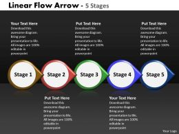 Linear Flow Arrow 5 Stages 77
