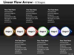 Linear Flow Arrow 6 Stages 13