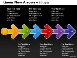 Linear Flow Arrow 6 Stages 61