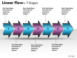Linear Flow Arrow 7 Stages 18
