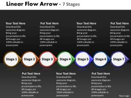 Linear Flow Arrow 7 Stages 43