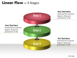 Linear Flow colorful 3 Stages 34