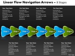Linear Flow Navigation Arrow 8 Stages 30