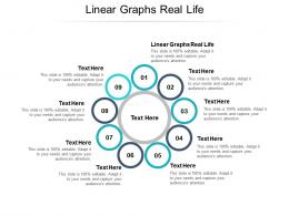 Linear Graphs Real Life Ppt Powerpoint Presentation Diagram Lists Cpb