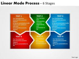 Linear Mode Process 6 Stages