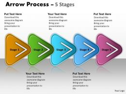 Linear Process 5 Stages 10