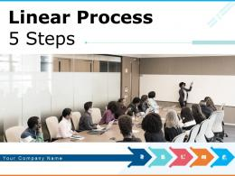 Linear Process 5 Steps Strategic Management Analyse Information Business