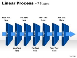 linear process 7 Stages 51