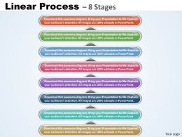 linear Process 8 Stages diagram 19