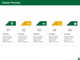 Linear Process Hazardous Waste Management Ppt Demonstration