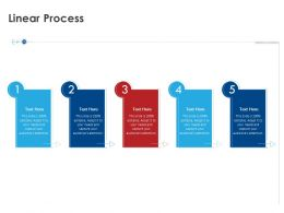 Linear Process R425 Ppt Powerpoint Gallery Icons
