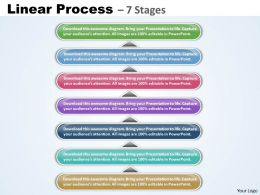 Linear Process With 7 Stages