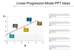 Linear Progression Model Ppt Ideas